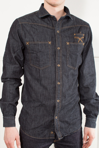 PM122-908 Denim Shirt Bill